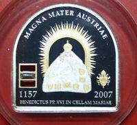 Cook Islands 5 Dollars 2007 Silber Proof #F3136 Papstbesuch in Österreich