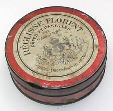 Reglisse Florent Avignon France Blechdose Blechschachtel Metall-Dose Tabakdose