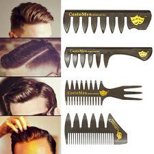 Men Wide Tooth Comb Professional Salon Hair Styling Hairdressing Brush Ribs Tool