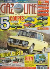 GAZOLINE 211 MGA COUPE 1500 MORGAN MX2 SUPER SPORTS 1935 ALFA GIULIA NUOVA SUPER