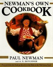Newman's Own Cookbook PAUL NEWMAN / A.E. HOTCHNER 1ST PRINT LN