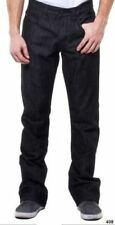 SYN Designer Men's NWT 006 40x32 Raw Black Prankster Cotton Denim Straight Jeans