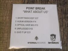 Point Break:   What About Us  five track promo CDr