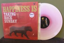 "Taking Back Sunday ""Hapiness Is"" LP /350 OOP Movielife Brand New Red/White"