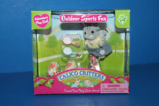 Calico Critters Outdoor Sports Fun Cat Skates Unicycle in Box
