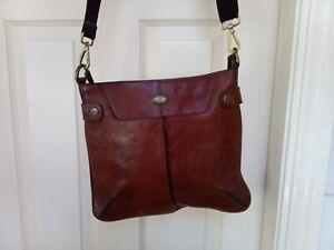 Brand  New No tag Mulberry Tan Leather Messenger Shoulder Bag