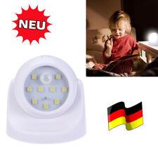 LED Batterie Nachtlicht Notlicht mit Bewegungsmelder Nachtlampe Nachtleuchte DE