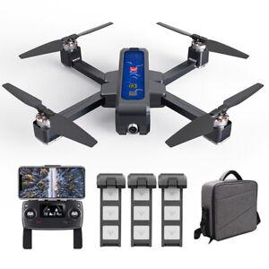 MJX B4W Bugs 4W GPS RC Drone w/ 4K Camera 5G WIFI FPV Drone+3 Battery+1 Handbag