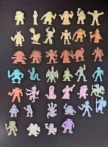 NECLOS FORTRESS 40 keshi figure monster rubber doll set retro vintage
