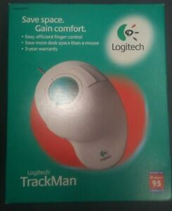Logitech Trackman Model# 4259 PS2 Open Box condition