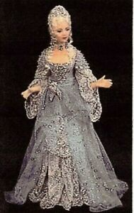 1:12 scale Miniature Doll Art Tutorials ~ Patterns ~Clothes/Hair/ LADY STARLIGHT