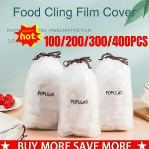 100/200/300/400Pcs Fresh Keeping Bags Disposable Bowl Cover Vacuum Sealed Best