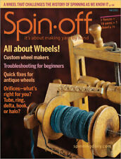 Spin-off magazine Fall 2011: All About Wheels, scarf, shawl, snood, neckties