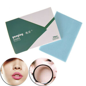 50pcs make up oil control oil-absorbing blotting face clean paper oil control^RZ