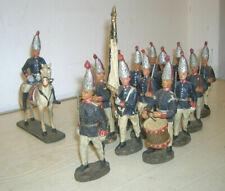 14 Stück alte Elastolin Soldaten 1. Garde-Regiment zu Fuß um 1910 - 10cm Serie
