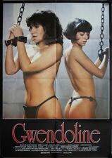 Gwendoline Filmposter A1 Tawny Kitaen, Zabou Breitman, Brent Huff Erotik