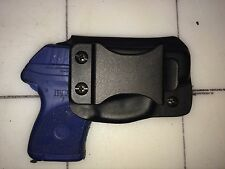 Ruger LCP Kydex Holster Black Right Handed - 0 Deg Cant