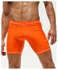 """Rufskin Liner Signature Cycle Shorts Orange Made in California """"Small"""""""