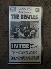 The Beatles, Intertel Promo Video, VHS Tape, Feat:We Can Work it Out & Help!