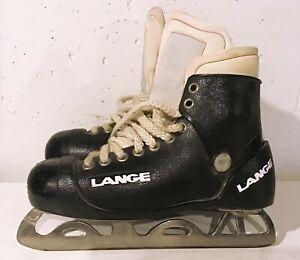 Vintage Lange Goaler hockey goalie skates size 8 1/2