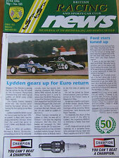 BRITISH RACING NEWS MAGAZINE #185 JUN 1996 CLASSIC FF HARE AND HARRISON FORD STA