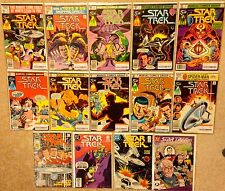 Star Trek Series Comic Books Marvel #6 - #8, #11 - #17 & DC #1, #26, #47, NG #33