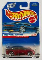 1999 Hotwheels Pontiac Rageous Concept Car Mint! Very Rare!