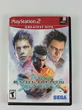 Virtua Fighter 4: Evolution SONY PlayStation 2 CIB Complete 2003 Greatest Hits