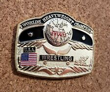 "Official National Wrestling Alliance ""10 Pounds of Gold"" Enamel Pin, NWA"
