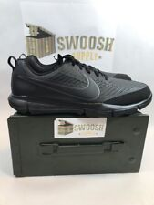 Nike Explorer 2 Golf Shoes Mens Sz 11.5 Triple Black Spikeless 849957-001