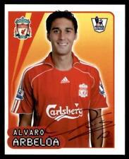 Merlin Premier League 2007/08 Alvaro Arbeloa Liverpool no. 309