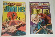 Weird Western Tales # 28,32  Jonah Hex