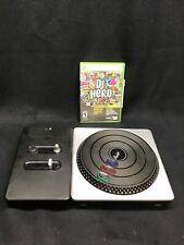 XBOX 360 Turntable & DJ Hero Game X Box Live Wireless Controller