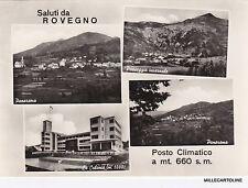 # ROVEGNO: SALUTI DA  - 4 VEDUTE  1955