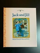 MOTHER GOOSE JACK AND JILL CHILDREN'S HARDCOVER BOOK NEW LITTLE BENDON BOOKS