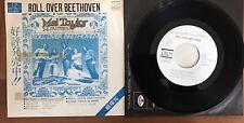 "Mel Taylor & Dynamics - Roll Over Beethoven Japan Promo 7"" Vinyl VC-7510-S RARE!"