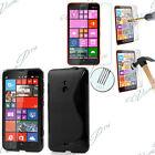 Etui Coque TPU Silicone Gel Nokia Lumia 1320/ RM-994 + 2 Films Verre Trempe