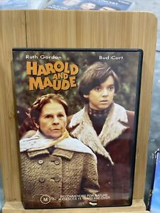 Harold And Maude (1971) VGC Region 4 RARE DVD Ruth Gordon Bud Cort