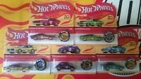 Hot Wheels 50Th anniversary Redline Button Choise/Choix lot ou à l'unitè ( N21)