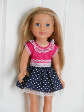 18 inch Design a Friend doll dress and panties.