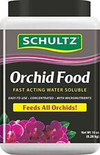 Schultz Water Soluble Orchid Food 20-20-15 10 oz