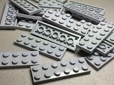 NEW LEGO Light Bluish Gray 2X6 Plates Lot of 20 Pieces 3795