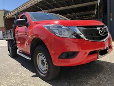 Single Cab Side Steps for Ford Ranger Mazda BT-50 BT50 Black 2012-2018+ (CMP88)