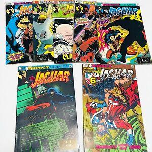 Impact Comics The Jaguar x 7 Issues #1, 2, 3, 4, 5, 7 and 9  1991-1992