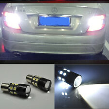 2x Error Free LED Reverse Back up Light project Bulb For Mercedes W204 C 07-2014