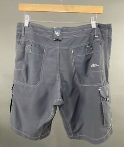 KUHL Gray 6 Pocket Design Cargo Nylon/Spandex Men's Sz 32