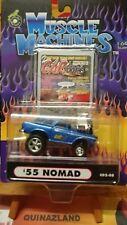 Muscle Machines '55 Nomad bleu (9960)