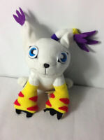 Gatomon Play by Play Digimon Plush Teddy Approx 8 inches Good Condition Soft Toy