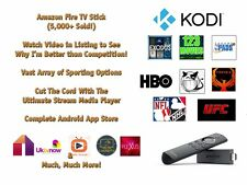 Jailbr0ken Fire TV Stick w/ Alexa Voice sports kod!- 2nd Gen Quad Core - 17.3