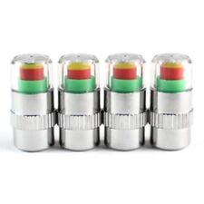 4 pcs. Car Safety Warning Air Pressure Tire Monitor Turn Signal Valve Cap 2 A4M8